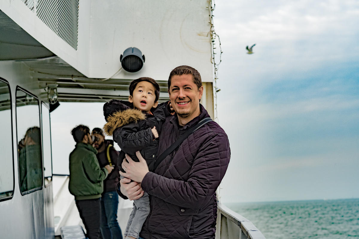 San Francisco Travel With Kids - Blue and Gold Fleet Bay Cruise