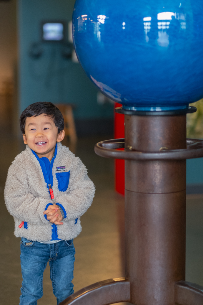 San Francisco Travel With Kids - Exploratorium Fun