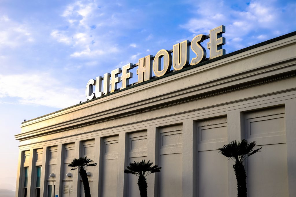 San Francisco Travel With Kids - Cliff House