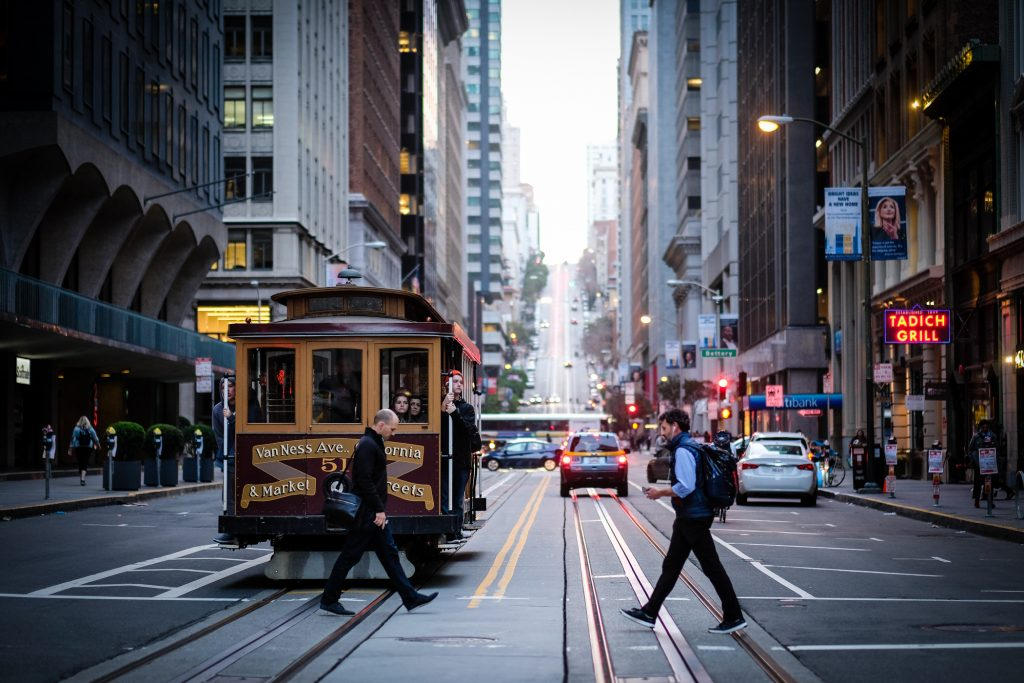 San Francisco Travel With Kids - Cable Car
