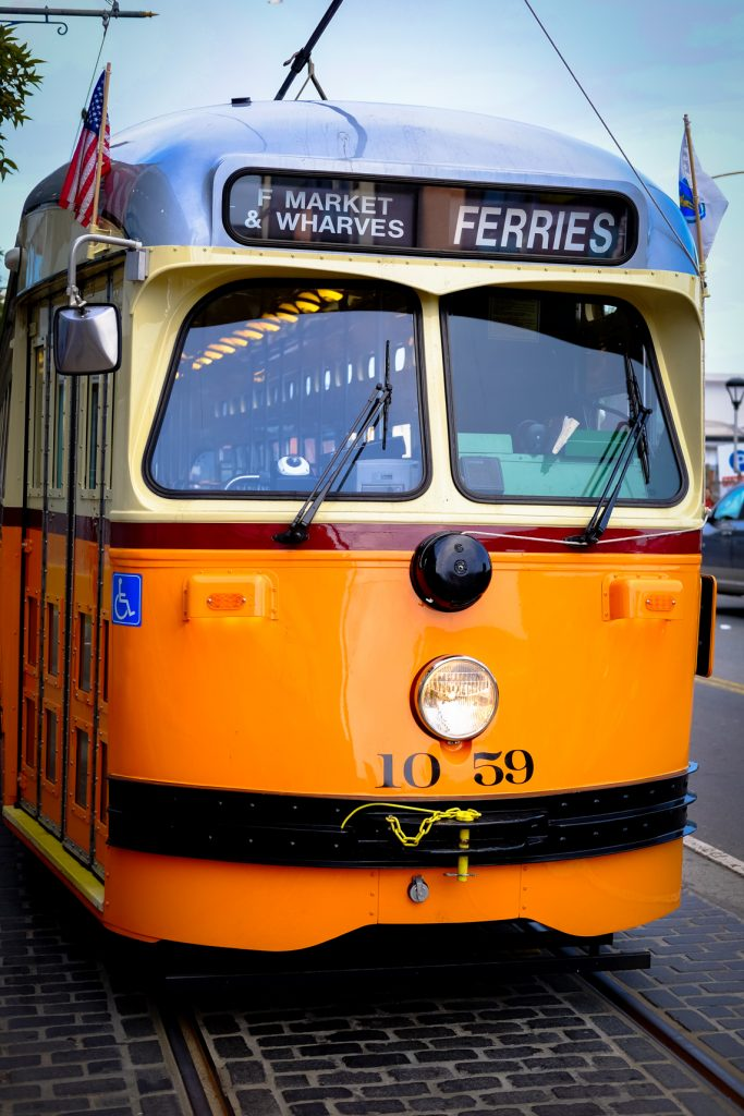 San Francisco Travel With Kids - Historic Streetcars F-Line