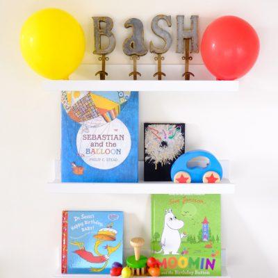 Sunday Shelfie – Kids' Birthday Books