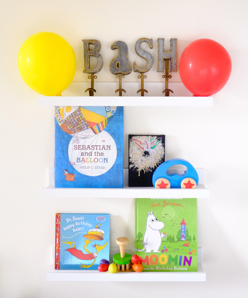 Sunday Shelfie – Kids' Birthday Books
