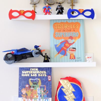 Sunday Shelfie – Books for Those Little Superheroes