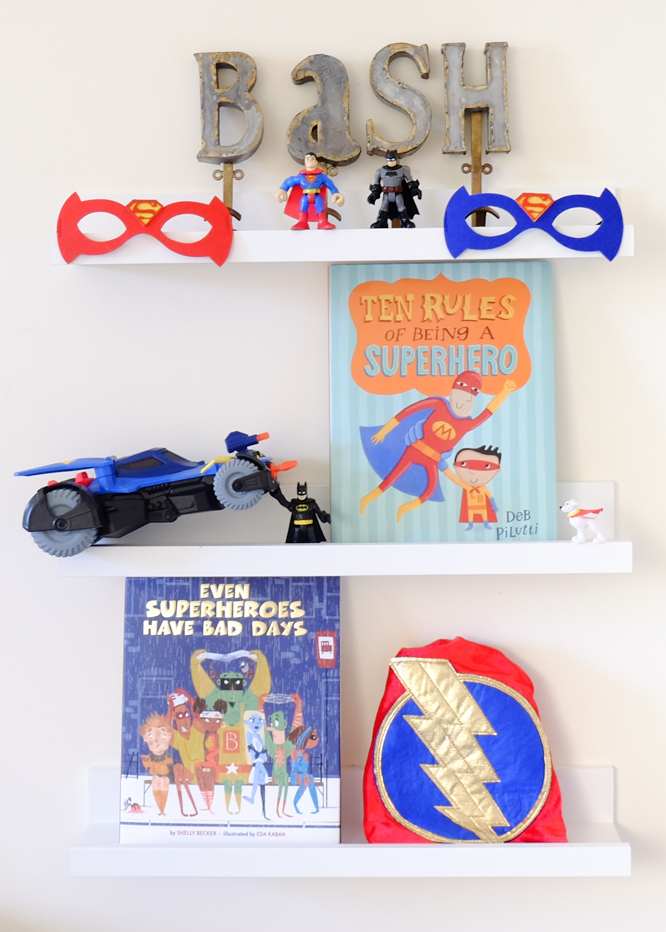 Sunday Shelfie Superheroes