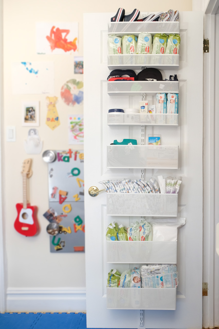 Elfa Door Organizer Nursery Storage