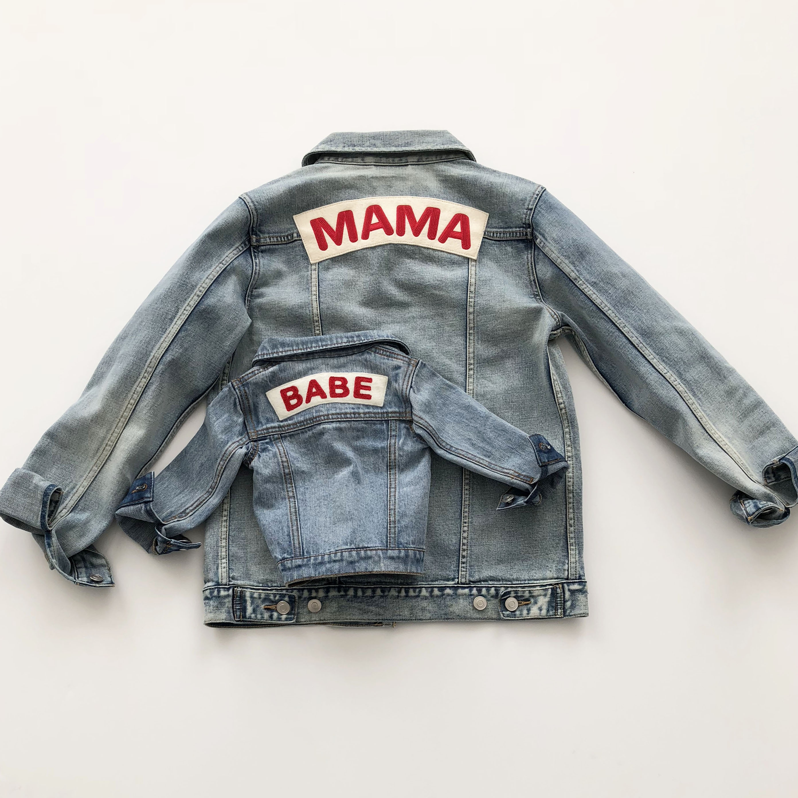 Ingrid And Isabel Mama Babe Denim Jacket