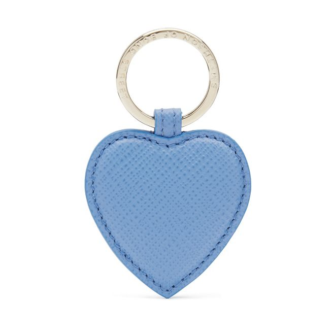 Smythson Panama Heart Keyring
