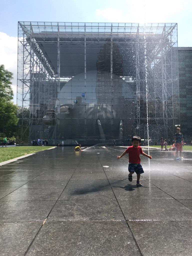 Amnh Arthur Ross Terrace Splash Pad 2