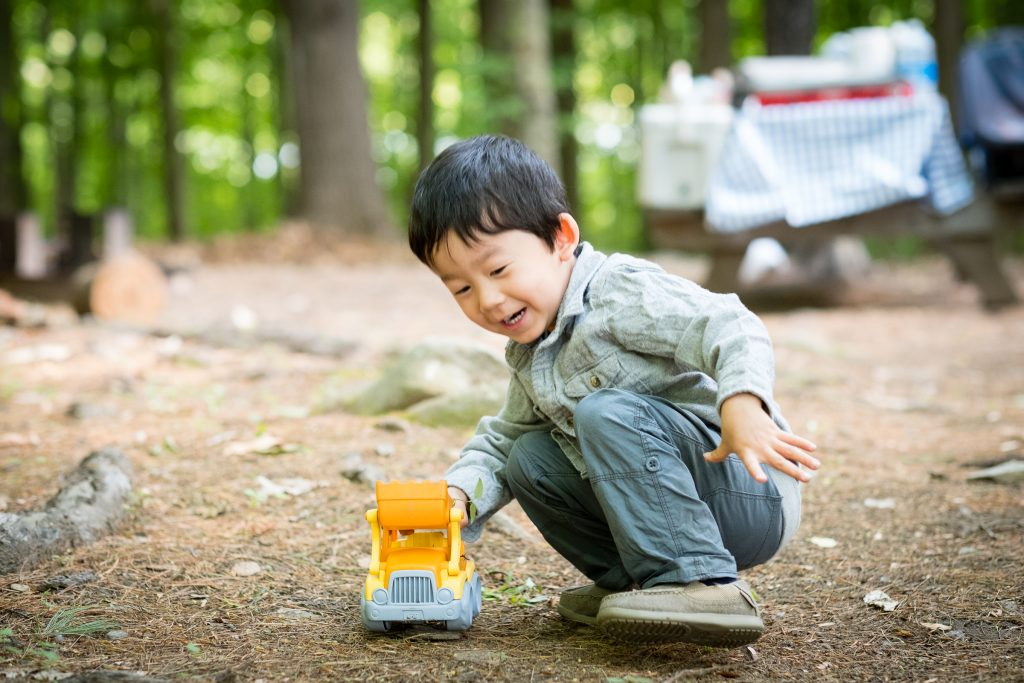 Camping With Kids Tip: Bring outdoor toys