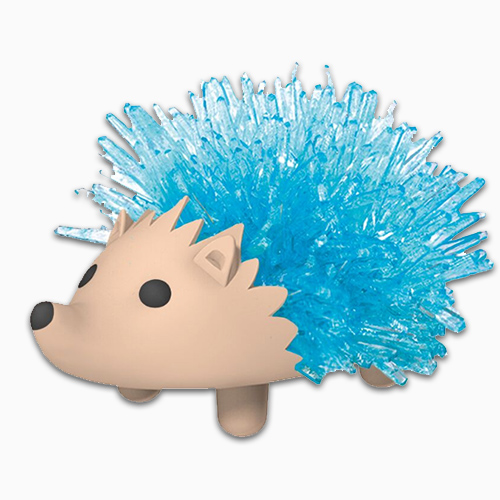 Crystal Growing Hedgehog 1