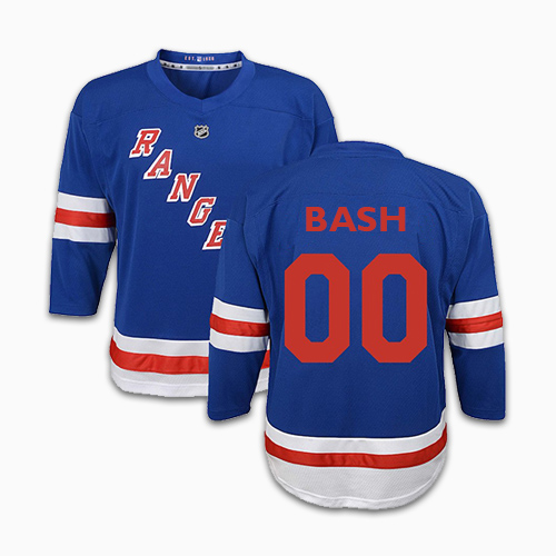 Nhl Ny Rangers Personalized Jersey 1