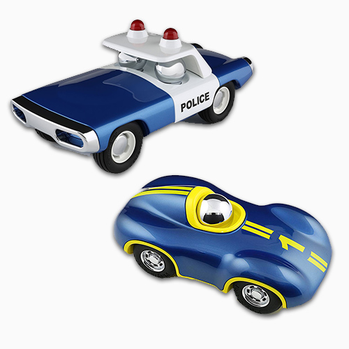 Playforever Race Car And Police Car 1