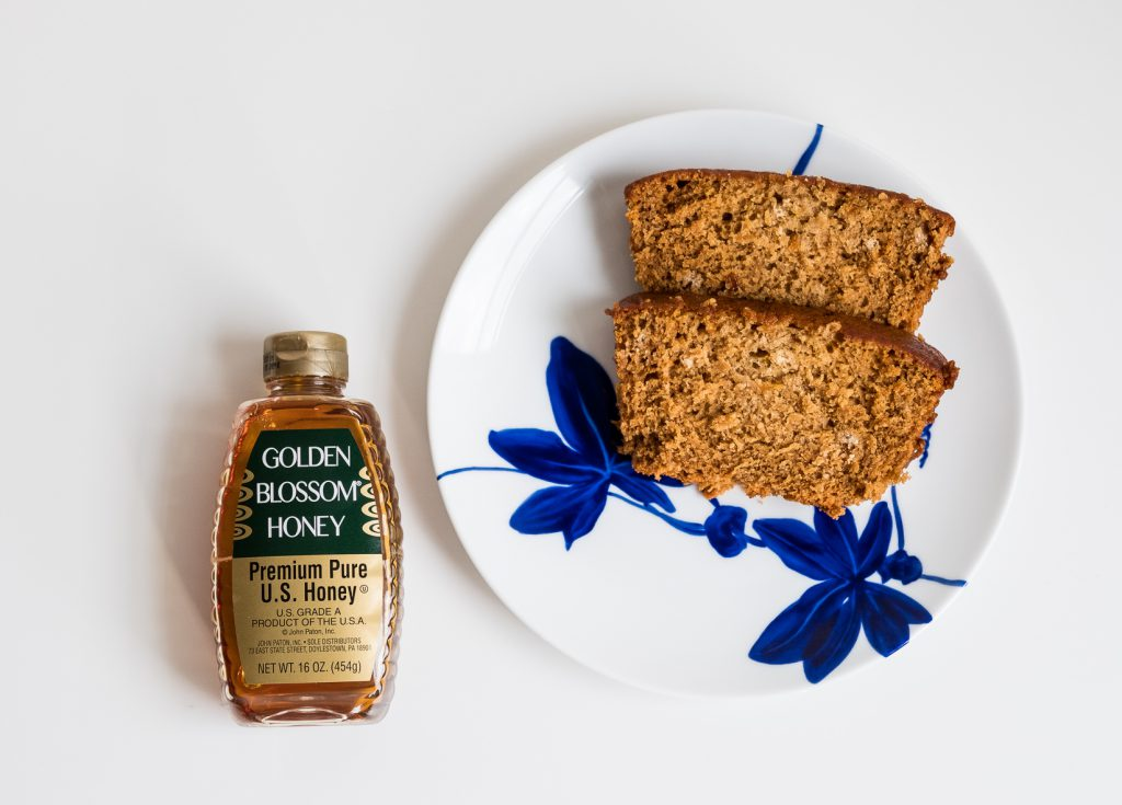 Golden Blossom Honey Vegan Honey Cake