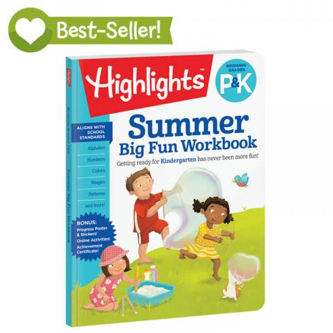 Highlights Summer Big Fun Workbook Pk