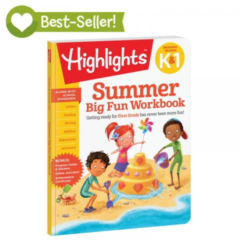 Summer Big Fun Workbook K 1