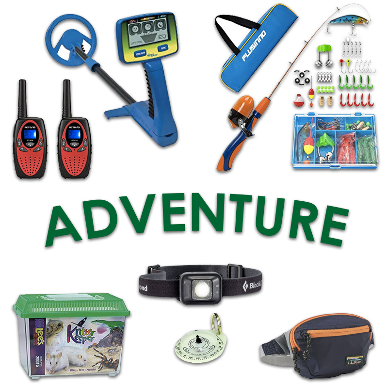 2019 Kindergarten Gift Guide Adventurers