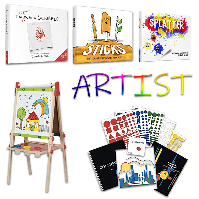 2019 Kindergarten Gift Guide Artists