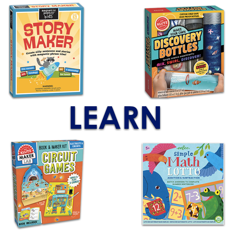 2019 Kindergarten Gift Guide Learners