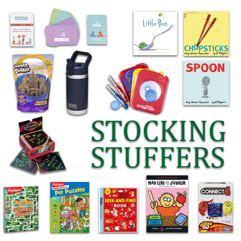 2019 Kindergarten Gift Guide Stocking Stuffers
