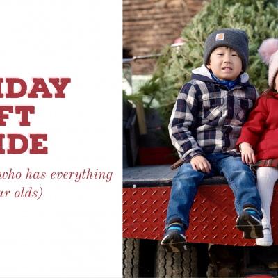 Gift Guide: For the Little Sister Who Has Everything (1 to 2 Year Old Siblings)